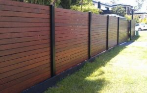 Fence In Melbourne made from wood